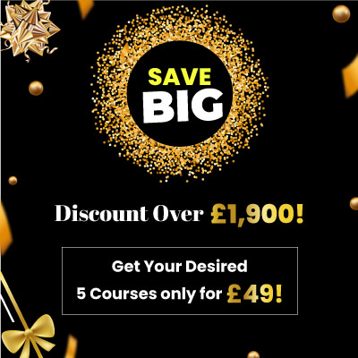Any 5 Courses Just For £49 (Mega Offer)