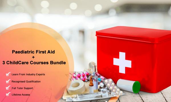 Paediatric First Aid + 3 Premium ChildCare Courses Bundle